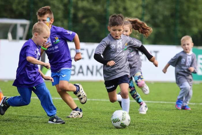 футбол дети