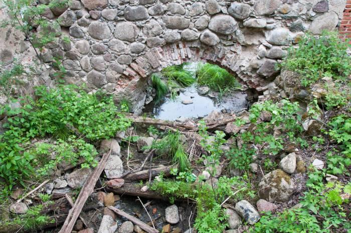 Мельница заметно просела с годами. Фото Анастасии Вереск