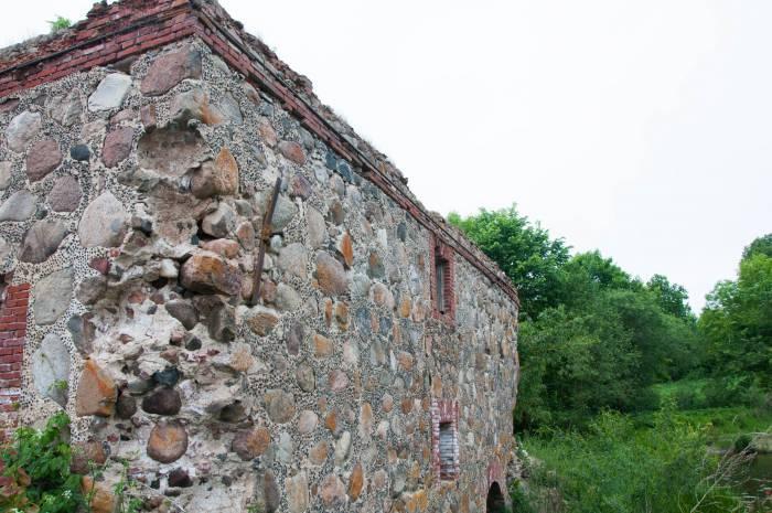 Стены хорошо сохранились. Фото Анастасии Вереск