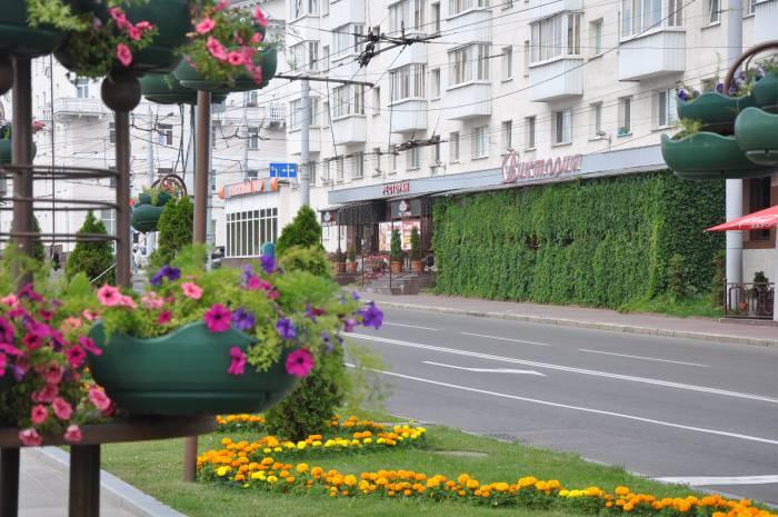 """В этом здании раньше находился бар """"Виктория"""". Фото Анастасии Вереск"""
