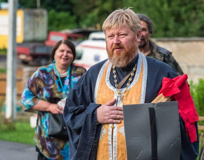 Главным координатором мероприятия является иерей Александр Ковалев. Фото Светланы Васильевой