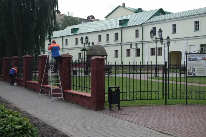 Здание Полоцкого университета. Кадетский корпус. Фото Владимир Борков