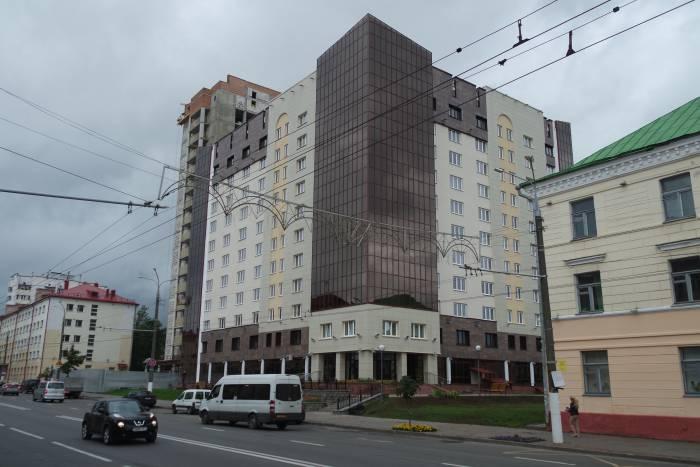 Здание вписывается в серию построек медуниверситета. Фото Ольга Витебская