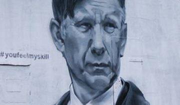 Быков граффити