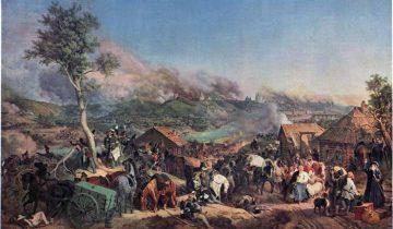 Петер фон Гесс. Сражение при Смоленске. 17 августа 1812 года. Фото ru.wikipedia.org