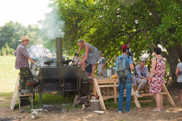 Полевая кухня. Фото Анастасии Вереск