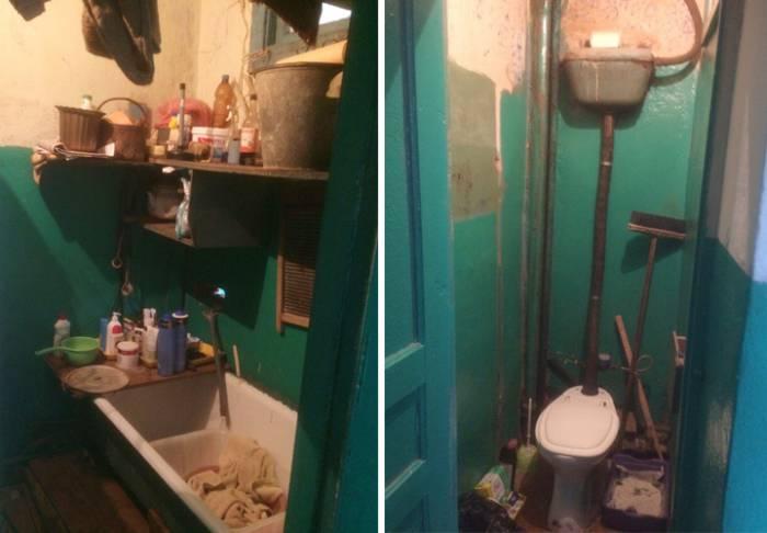 С сантехникой в съемном жилье за 50 рублей тоже дела обстоят не очень хорошо. Фото Анны Денисюк