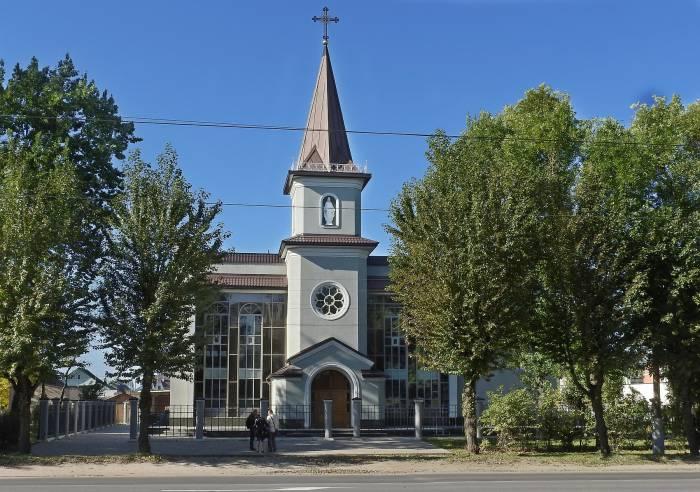 Костел Святого Антония Падуанского в Витебске. Фото Светланы Васильевой