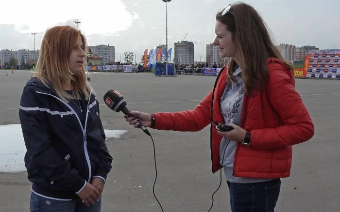 Мария Зарубина дебютировала в гонках 4 года назад. Фото Светланы Васильевой
