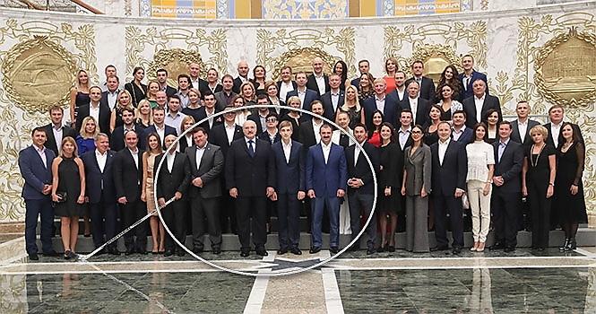 Фото пресс-службы Президента Беларуси