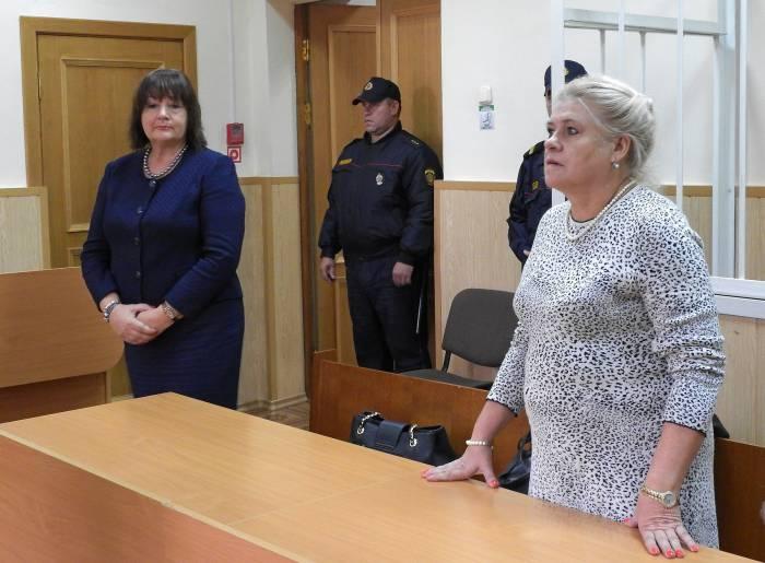 Адвокаты - Надежда Бирюкова и Зинаида Синякова. Фото Светланы Васильевой