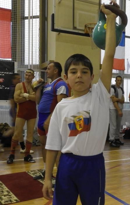 9-летний Саид из российской команды. Фото Светланы Васильевой