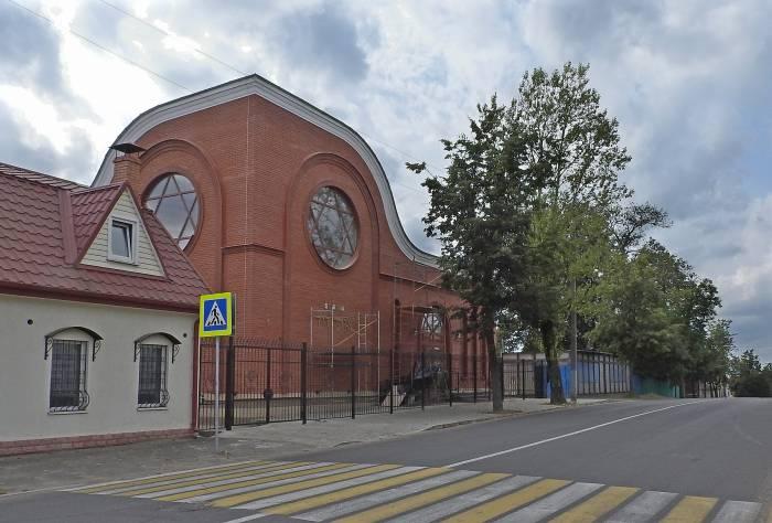 Новая синагога в Витебске на улице Грибоедова 12. Фото Светланы Васильевой