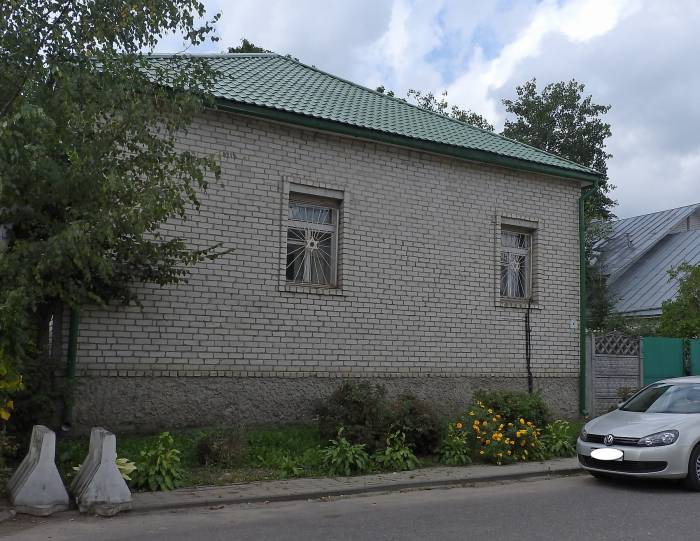 Синагога на улице 1-я Колхозная в Витебске. Фото Светланы Васильевой