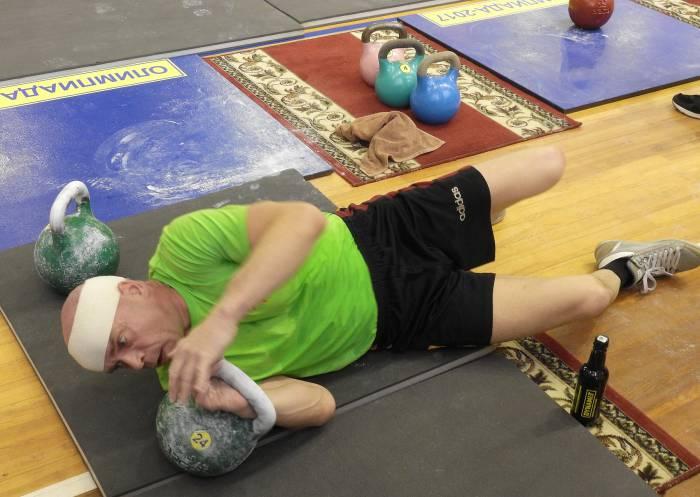 Вячеслав Хороненко устанавливает новые рекорды. Фото Светланы Васильевой