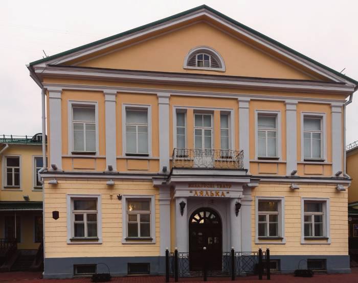Это здание было построено в 1912 году для бесплатной еврейской школы (талмуд-тора). Фото Светланы Васильевой