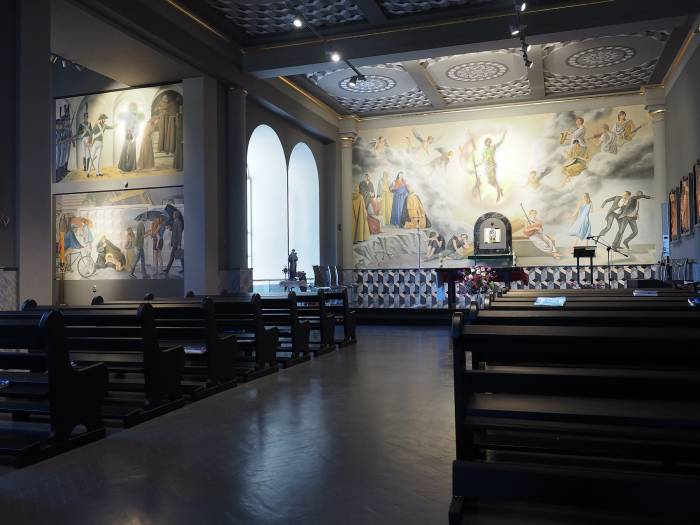 «Новая жизнь» костела Святого Антония – концептуальный проект в современном стиле. Фото Светланы Васильевой