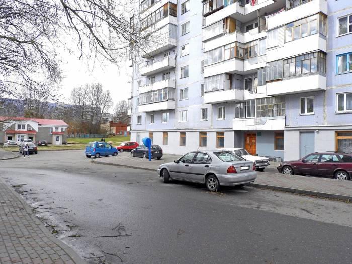 Возле этого дома в Витебске, произошла семейная ссора, закончившаяся убийством. Фото Светланы Васильевой