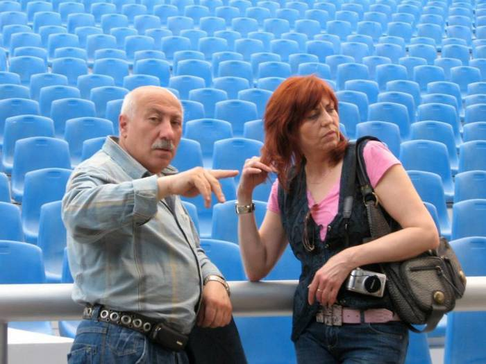 Родион Басс и Ольга Сальникова. Источник: Страница Аркадия Шульмана в Фейсбук