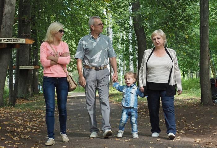 Отдых всей семьей в Мазурино. Фото Светланы Васильевой