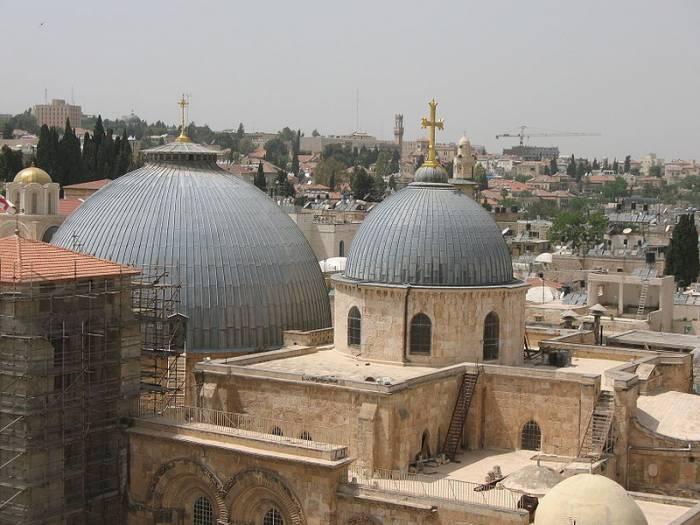 Храм Воскресения Христова (храм Гроба Господня). Фото ru.wikipedia.org