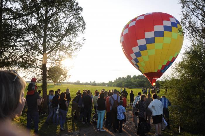 Воздушные шары были одной из самых красивых деталей праздника. Фото Анастасии Вереск