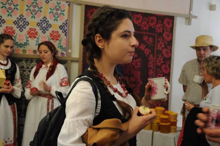 На празднике в Полоцке. Фото Анастасии Вереск