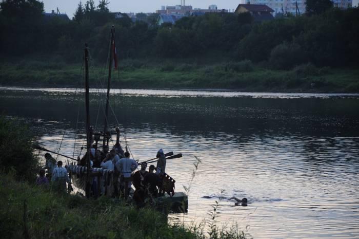 Хорошо поплавать после тяжелой битвы. Фото Анастасии Вереск