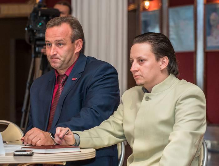 Александр Старых и Александр Замковский. Фото Светланы Васильевой