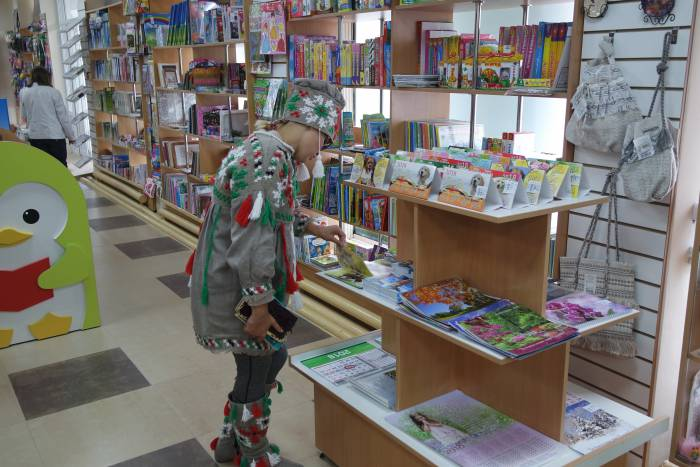 В книжном магазине. Фото Анастасии Вереск