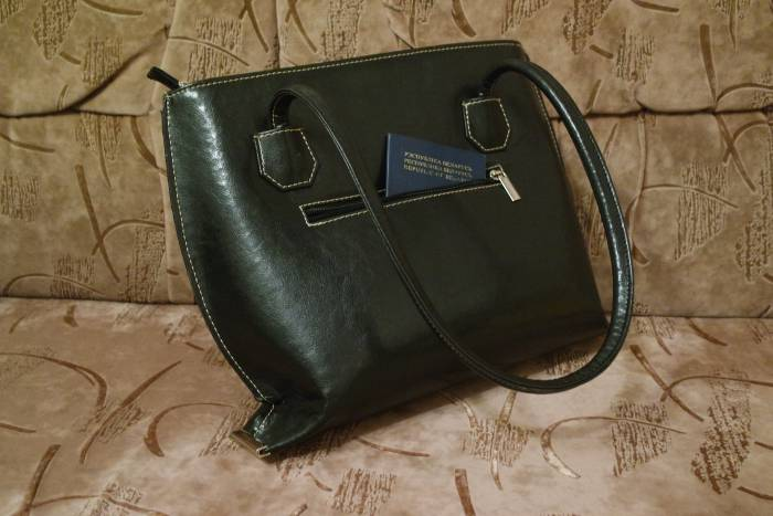 сумка паспорт