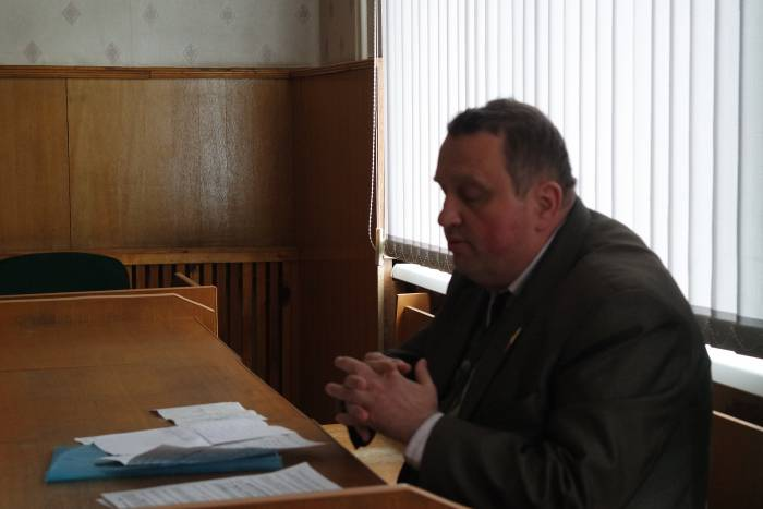 Игорь Постнов в суде. Фото Владимир Борков