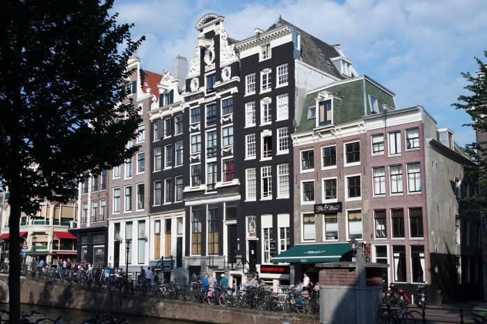 """Амстердам прославился как один из самых """"велосипедных"""" городов. Фото Анастасии Вереск"""