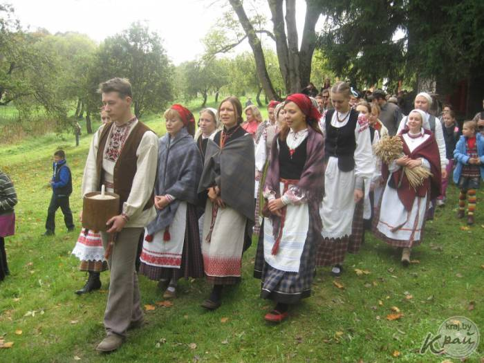 Багач в Вязынке 21 сентября 2013 года. Фота Валеры Трацяк