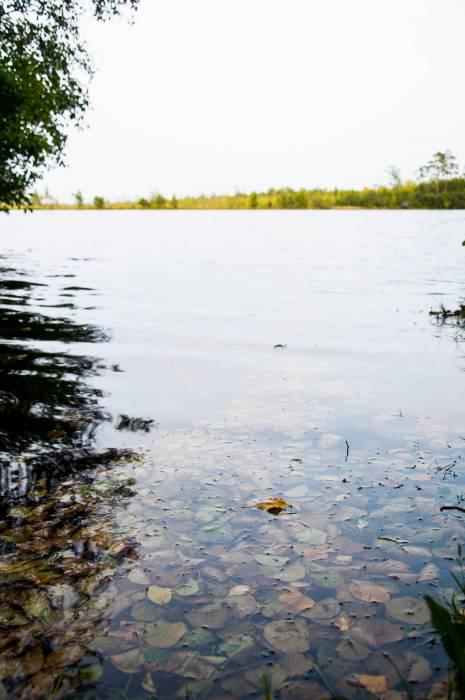 Озеро Черное - конечная точка пути. Фото Анастасии Вереск