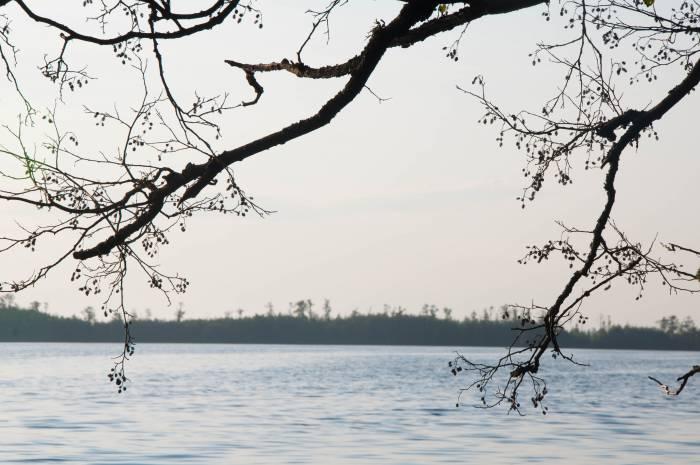 Вид на острова озера Черное. Фото Анастасии Вереск