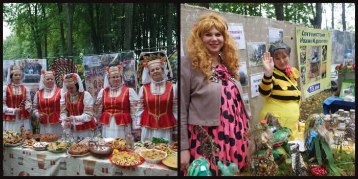 От народных коллективов до пчелок. Фото Ольга Витебская