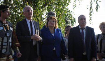 Борис Светлов и Лилия Ананич в Полоцке. 2 сентября 2017 года. Фото Владимир Борков
