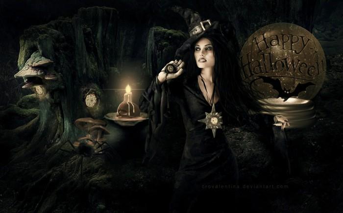 Хэллоуин, ведьма, Корженевский