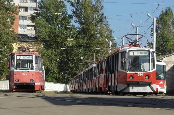 Трамвайное депо в Витебске. Фото Светланы Васильевой