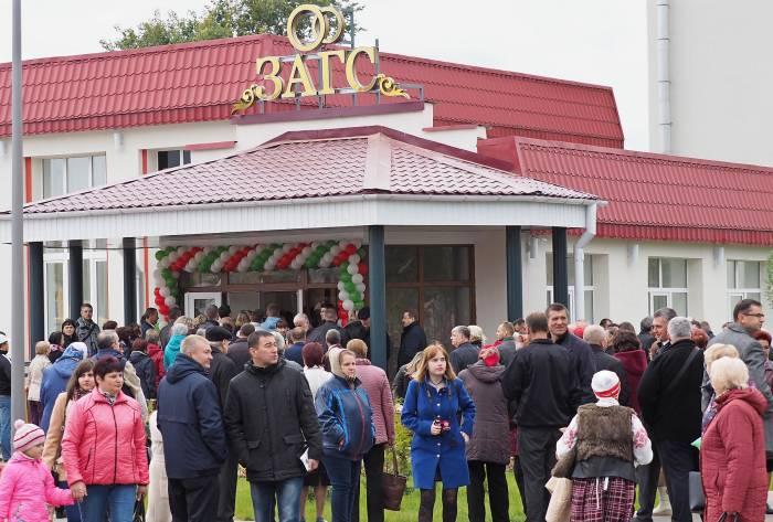 В Дубровно открыли новое отделение ЗАГСа. Фото Светланы Васильевой