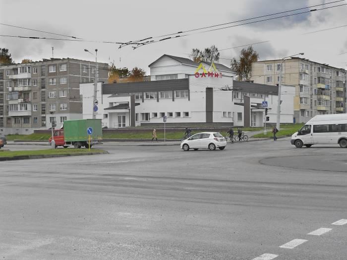 ТЦ «Олимп» на улице Правды, 63а. Фото Светланы Васильевой