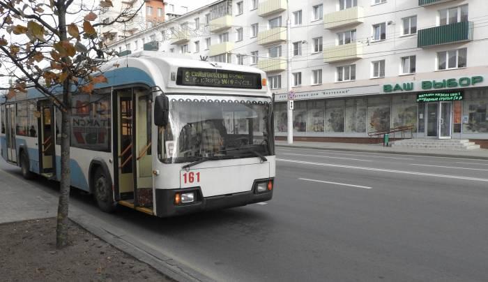ЧП в троллейбусе №8. Фото Светланы Васильевой