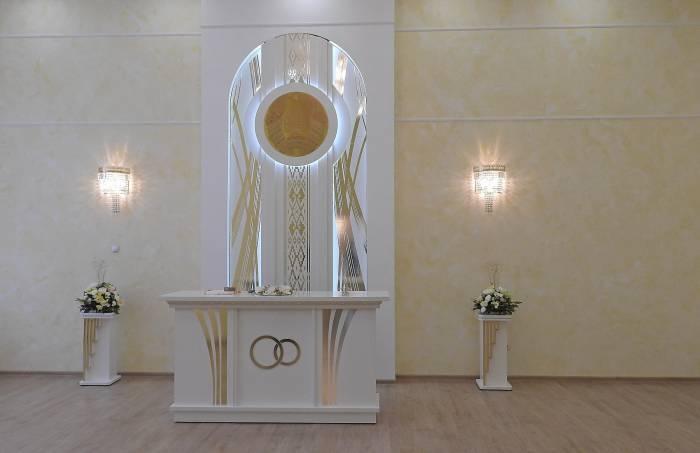 Зал для торжественной регистрации браков. Фото Светланы Васильевой