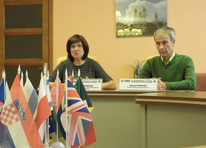 Марина Романовская и Эдуард Чернивчан. Фото Светланы Васильевой