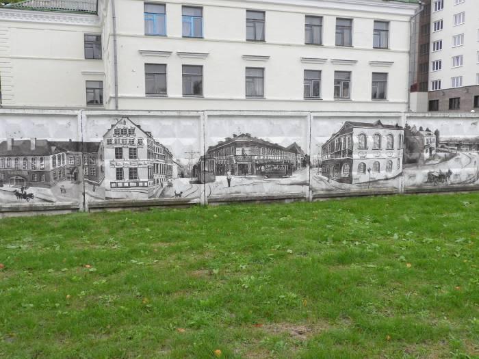 Арт-объект, которым гордятся в трамвайном депо Витебска. Фото Светланы Васильевой