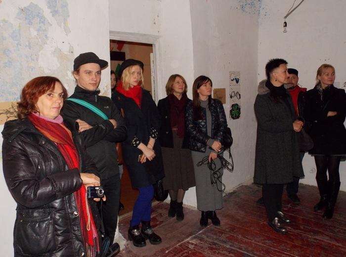 Ганчарова, Витебск, выставка