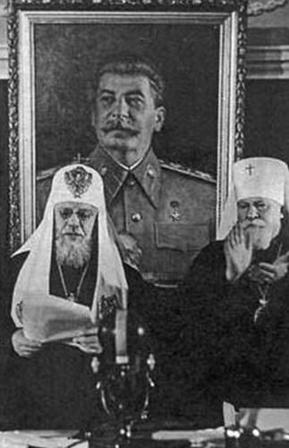 Сталин, Патриархия, РПЦ, великодержавие, Корженевский