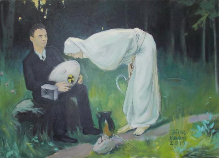 Шнейдерс, ремейк, живопись, Розенталь, Смерть, Корженевский, Латвия