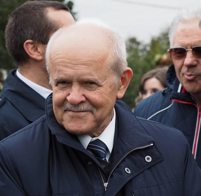Председатель КГК РБ Леонид Анфимов. Фото Светланы Васильевой